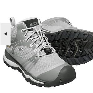 Waterproof boots by Keen lightly worn